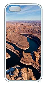 iPhone 5S Case Lake Powell PC Custom iPhone 5/5S Case Cover White