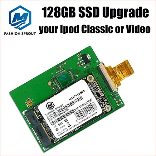 New 128GB SSD Replace MK1231GAL HS12YHA 120GB for 6th 7th Gen Classic HDD (Ssd For Ipod Classic)