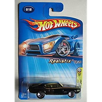 Hot Wheels /'69 Pontiac GTO #018 2005 First Editions Red