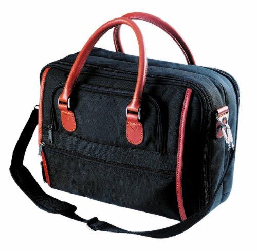 Custom Leathercraft 51114 Brief Case, Ballistic Nylon, 16-Inch