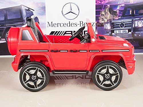 Mercedes benz g63 12v battery power ride on car kids toy for Mercedes benz service charges