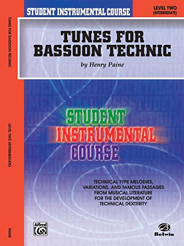 Student Instrumental Course Tunes for Bassoon Technic: Level II