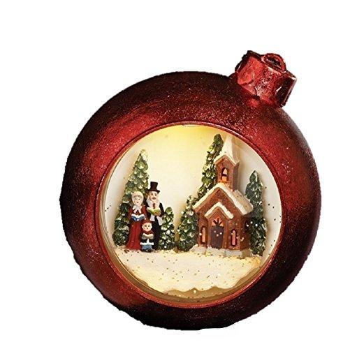 Snowglobe Ornament - Roman Inc. 7