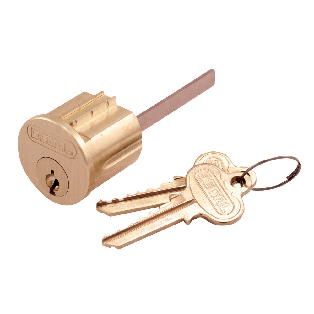 Prime-Line Products SE 70002 Brass Key Lock Cylinder