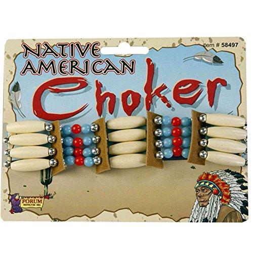 Beaded Native American Choker Standard