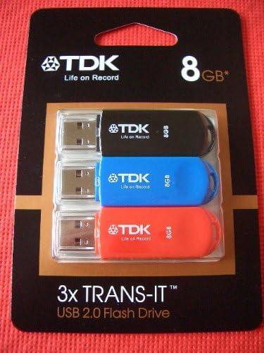 TDK Trans-IT 3 Pack - Memoria USB: Amazon.es: Informática