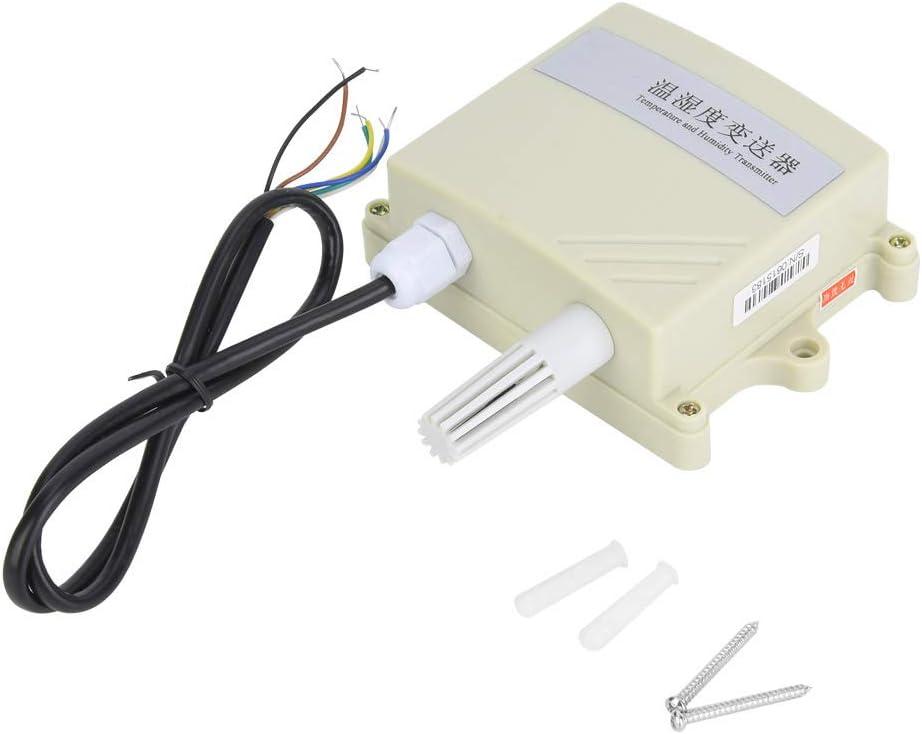 Liccx Collettore di Temperatura e umidit/à trasmettitore//sensore di Temperatura del collettore di Temperatura e umidit/à Impermeabile ad Alta precisione
