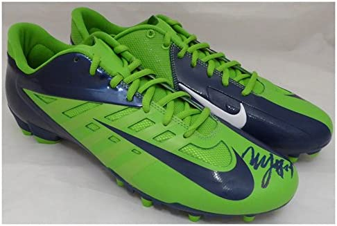 e7c3aa0f7c00 Marshawn Lynch Autographed Signed Nike Cleats Shoes Seattle Seahawks ML  Holo Stock #131210 - Certified Authentic at Amazon's Sports Collectibles  Store