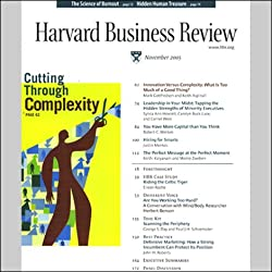 Harvard Business Review, March 2003