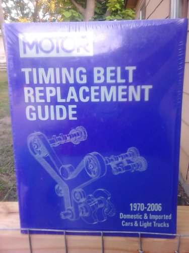 Motor Timing Belt Replacement Guide, 1970-2006