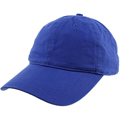 Everyday Unisex Cotton Dad Hat Plain Blank Baseball Adjustable Ball Cap - Blue Hat Adjustable