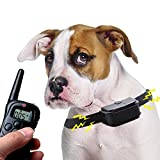 Winterworm Rechargeable 300M LCD Electronic Remote Control Dog Training Collar with 0-100 levels Static and Vibration Modes for 1 small/medium size dog Review