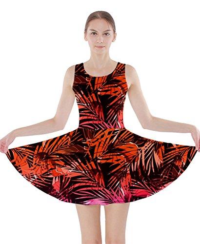 CowCow Damen Kleid Mehrfarbig Gr. X-Large,  - Orange Purple