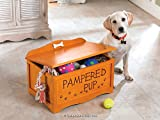 Dog Pet Cat Wood Toy Chest Box