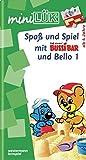 miniLÜK: Spaß und Spiel mit Bussi Bär und Bello 1: Fröhliche Aufgaben für Kinder ab 4 Jahren