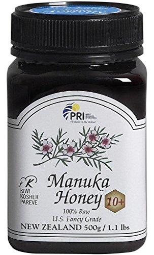 Pacific Resources International Manuka Honey 10+, 1.1 pound