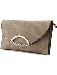 Soft Leather Evening Handbag Designer Crossbody Bag for Women Casual  Envelope Clutch Purse 5b25bef078fd
