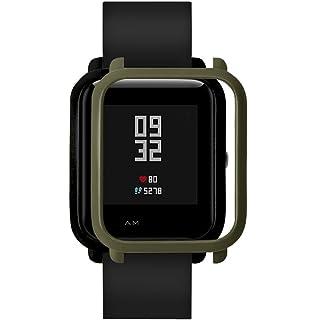 squarex - Carcasa de protección para Huami Amazfit Bip Younth Watch, de policarbonato, delgada