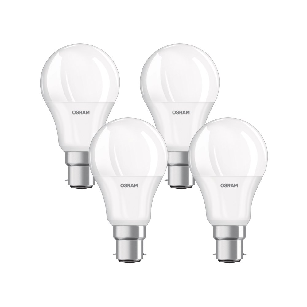 OSRAM LED BASE CLASSIC B - Lá mpara, forma mini vela clá sica, con casquillo enroscable, 240 V, color blanco cá lido, pack con 3 unidades forma mini vela clásica color blanco cálido Ledvance 4052899955509