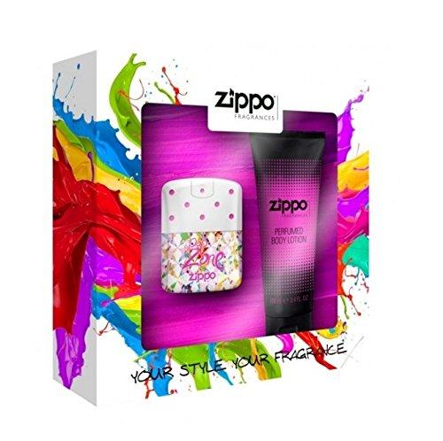 Zippo Profumi Pop Zone Pour Femme Eau de Toilette Ml.40 + Body Lotion Ml.100 MAVIVE