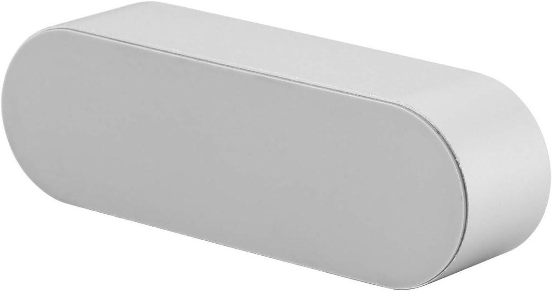 Porta biglietti da visita in lega di alluminio Faletony colore: Argento