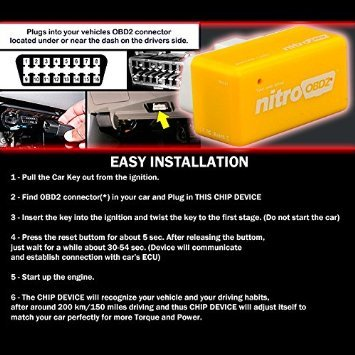 CHAMPLED FOR TOYOTA POWER BOX Chip Tuning ECU Remapping Remap Performance Upgrade Benzine Car Auto Fuel Optimization More Power and Torque OBD 2 PLUG AND DRIVE by Chapled (Image #2)