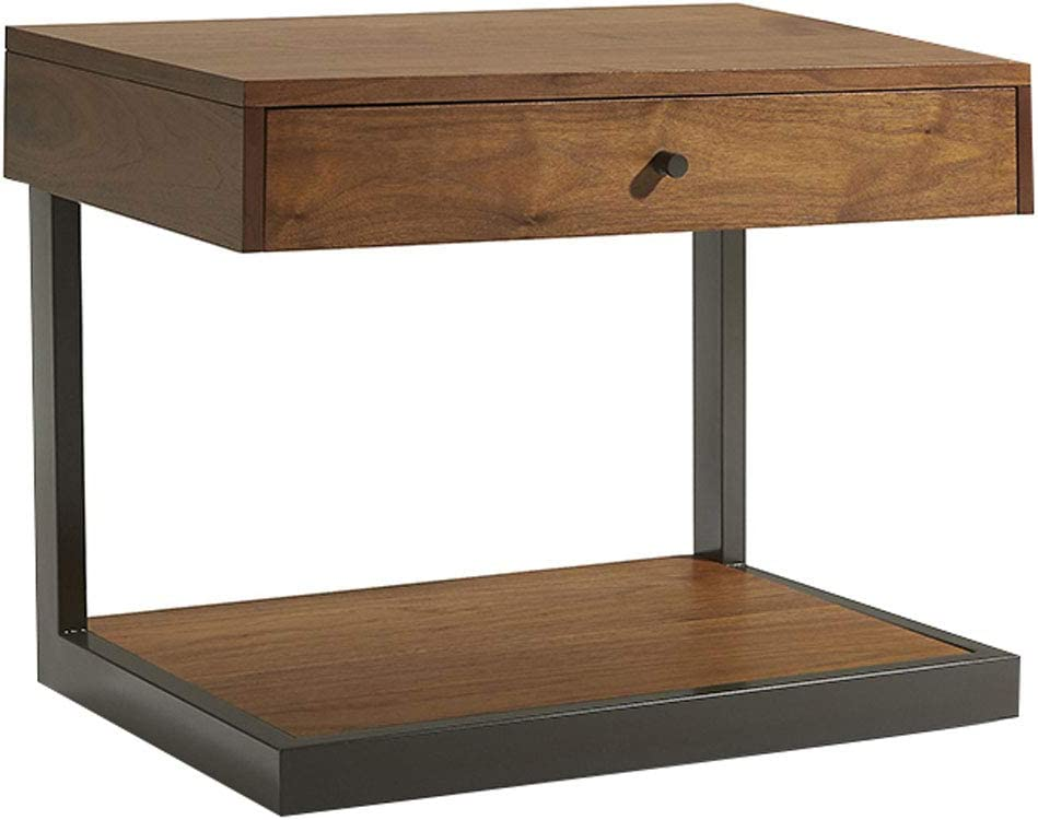 Amazon Com Bedside Table Scandinavian Nordic Style Sofa Side End Laptop Table With Drawer Modern Contemporary Bedroom Furniture 354552 Cm Furniture Decor,Brown And Gray Bathroom Decor