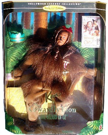Barbie Ken as the Cowardly Lion in the Wizard of Oz (Collector Edition)
