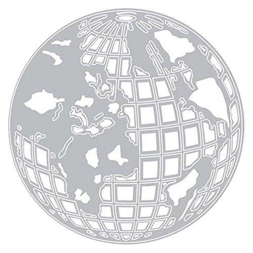 Sizzix Tholtz Thinlits Die Globe Set