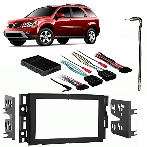 Fits Pontiac Torrent 07-09 Double DIN Stereo Harness Radio Install Dash Kit