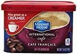 international foods coffee - Maxwell House International Cafe Flavored Instant Coffee, Cafe Francais, 7.6 Ounce Canister