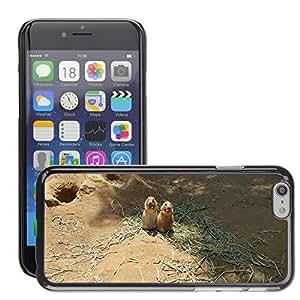 """Etui Housse Coque de Protection Cover Rigide pour // M00133464 Prairie Dog Zoo Twins // Apple iPhone 6 4.7"""""""