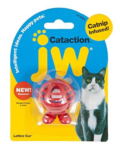 Petmate JW Cataction Lattice Cuz Toy, Multicolor ()