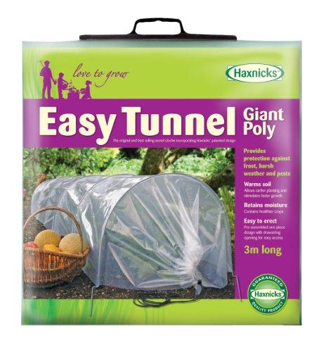 (Tierra Garden 50-5000 Haxnicks Easy Poly Tunnel Garden Cloche, Giant)