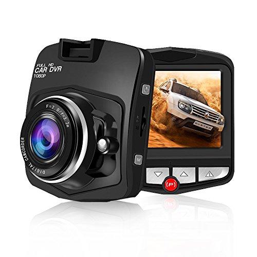 Dash Cam,SSONTONG Dash Camera 2.31″ LCD Car Dashboard Camera Vehicle Video Recorder with Full HD 1080P,140 Degree Wide Angle Lens, Night Vision, G-Sensor, Parking Monitoring, Loop Recording(black)