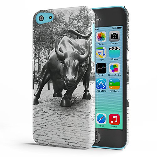 Koveru Back Cover Case for Apple iPhone 5C - The Red Bull