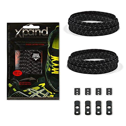 Xpand Shoelaces System Elastic Laces