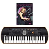 Casio SA-76 44 Key Mini Keyboard Bundle Includes Bonus Carole King Beginning Piano Solo Songbook