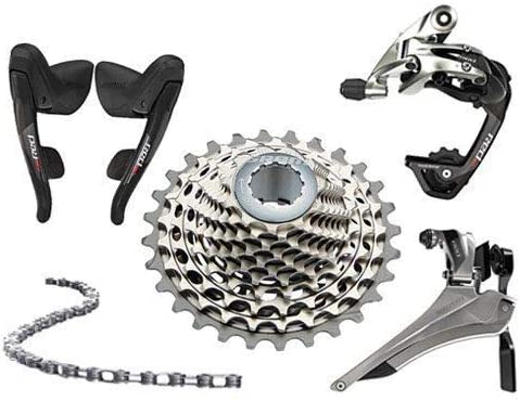 SRAM 赤22 SRAM 赤 2x11 Speed 11-32T Cassette Groupset Kit 5 piece #SY2863-self