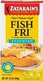 Zatarain's Coating Mix Fish Fry Seasoned, 12-ounces (Pack of 12)