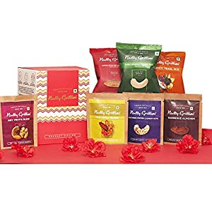 Best Nutty Gritties Mixed Flavored Dry Fruits Gift India