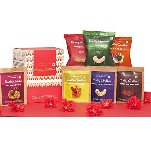Nutty Gritties Mixed Flavored Dry Fruits Gift