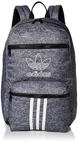 adidas Originals Unisex National 3-Stripes Backpack, Onix Jersey/Black, ONE SIZE
