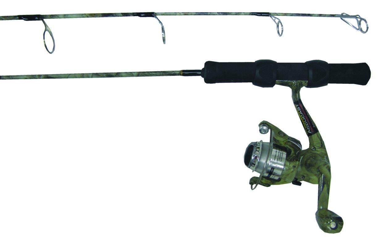 HT FHI-30MSC Fish Hunter Camo 30-Inch Medium Rod and Reel Combo