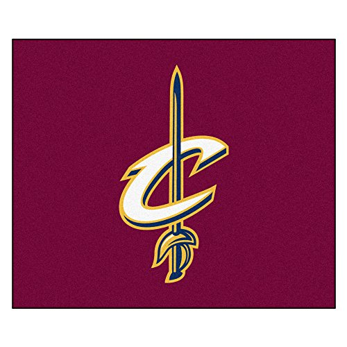 FANMATS 19433 NBA - Cleveland Cavaliers Tailgater Rug , Team Color, 59.5''x71'' by Fanmats
