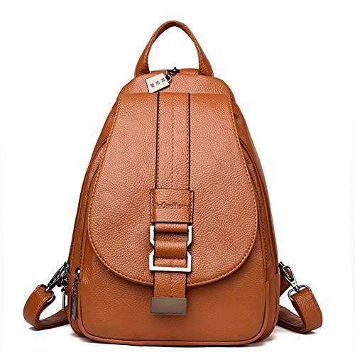 New 10 cm Borsa a 26 Marrone Casual tracolla Zaino Marrone mano fashionFashion Borsa Donna a Tote 32 rxqBrZOF