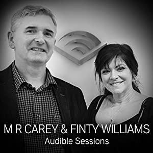 M R Carey and Finty Williams Speech