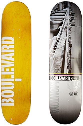 Blvd Skateboards Cityscape Montoya Deck, 8-Inch