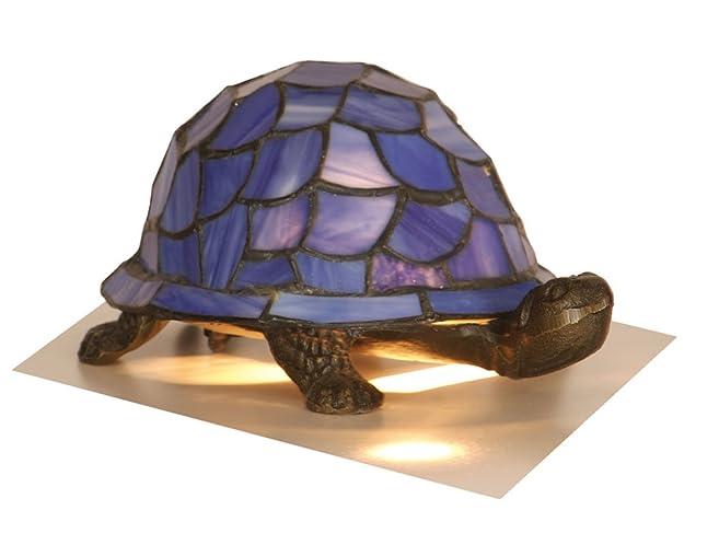 Blue Tiffany Tortoise Lamp: Amazon.co.uk: Lighting