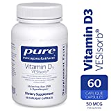 Pure Encapsulations - Vitamin D3 VESIsorb - Hypoallergenic Supplement for Enhanced Vitamin D Absorption - 60 Caplique Capsules